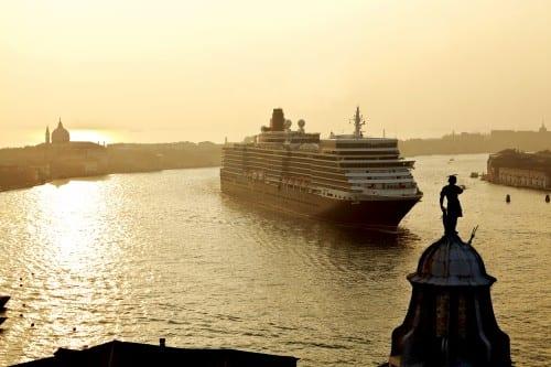 Queen Elizabeth in Venice Photo courtesy of Cunard Line