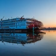 Save $1400 on 2017 Holiday River Cruises… aboard American Queen Steamboat Company's NEW Paddlewheeler