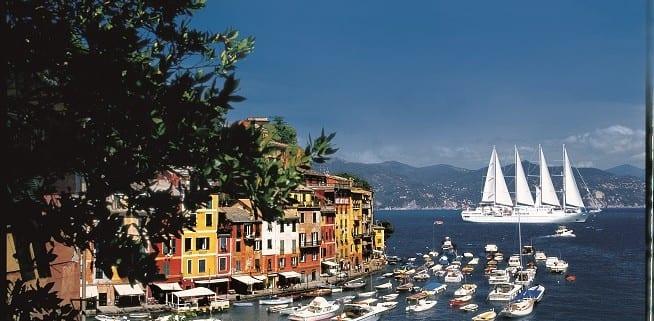 Windstar in Portofino