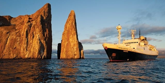 National Geographic Endeavour in Galapagos
