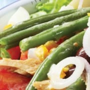 Salade Niçoise compliments of Viking River & Ocean Cruises & CruiseCompete