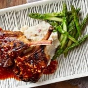 Korean-Style Lamb Chops compliments of Viking River & Ocean Cruises & CruiseCompete