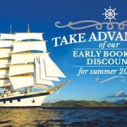 Star Clippers' Early Booking Discount