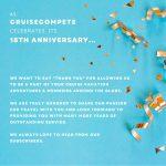 CruiseCompete Celebrates 18 Years!