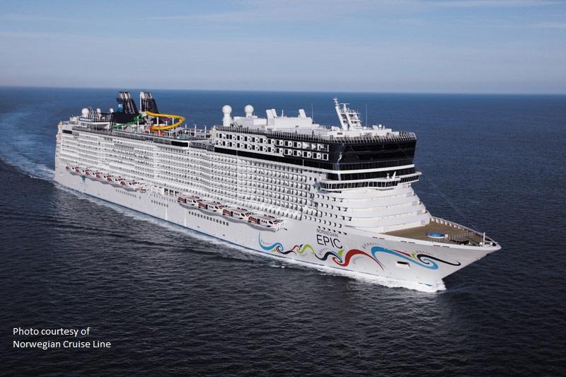 Norwegian Epic (Photo courtesy of Norwegian Cruise Line)