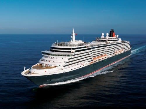 Queen Victoria at sea (Photo courtesy of Cunard)