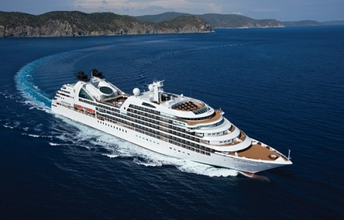 Seabourn Quest off island of Elba - Italy (Photo courtesy of Seabourn