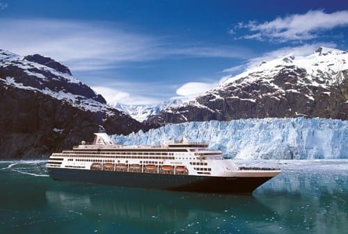ms Maasdam in Alaska  (Photo courtesy of Holland America Line)