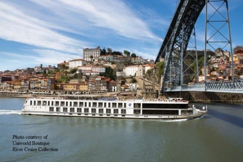 Queen Isabel (Photo courtesy of Uniworld Boutique River Cruise Collection)
